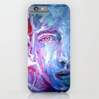 iPhone & iPod Case featuring Mr BLUE by ARTito