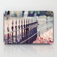 Autumn Fence iPad Case