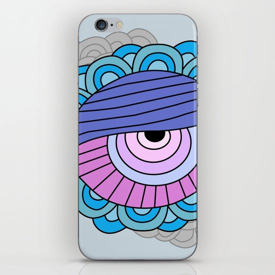 eye clumps iPhone & iPod Skin