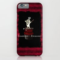 iPhone & iPod Case featuring Zombsbury Doughboy by Happi Anarky