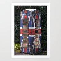 British phone Art Print