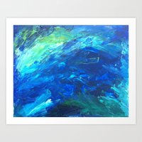 Waters Of Key West Art Print
