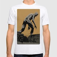 Giant Mens Fitted Tee Ash Grey SMALL