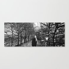 Panoramic on death Canvas Print