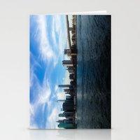 New York Skyline - Color Stationery Cards