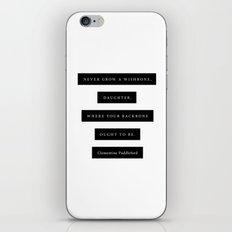 Backbone iPhone & iPod Skin