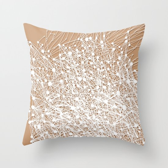 Here & There Throw Pillow