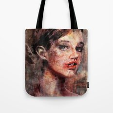 Be Good, Damaged Baby Doll Tote Bag