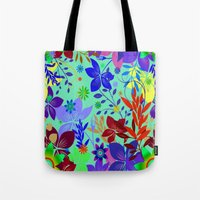 Flowers Explosion Tote Bag
