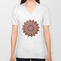 Zen Mandala Unisex V-Neck