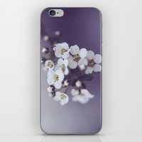Flower in the mist iPhone & iPod Skin