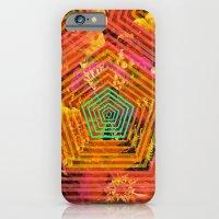 iPhone & iPod Case featuring florecitas by Jen Lin Aliaga