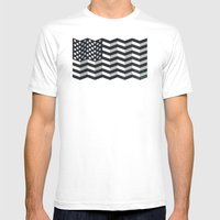 Made In America Mens Fitted Tee White SMALL
