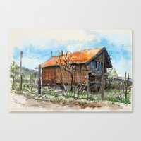 Old house 1 Canvas Print