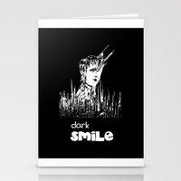 Dark Smile Stationery Cards