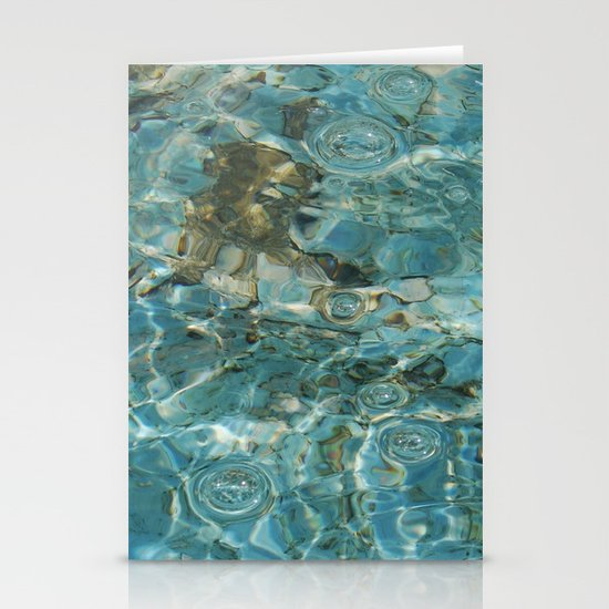 Water texture for iPhone Stationery Card