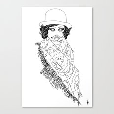 alex today Canvas Print