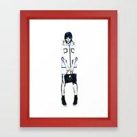 Jaime King Hart of Dixie Framed Art Print