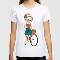 Hipster Womens Fitted Tee Ash Grey SMALL