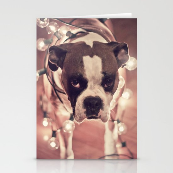Will work for treats Stationery Card