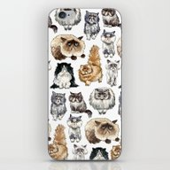 Disappointed Cats iPhone & iPod Skin