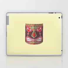 The Polynesian Mask Laptop & iPad Skin