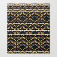 Pattern DNA Canvas Print