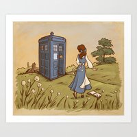 Adventure In The Great W… Art Print