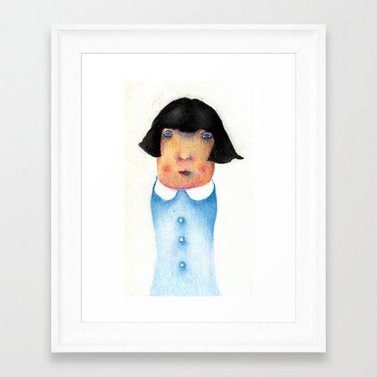 Passive Agressive  Framed Art Print