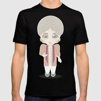 Girls in their Golden Years - Dorothy Mens Fitted Tee Black SMALL