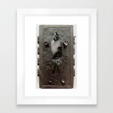 Steve Wozniak in Carbonite Framed Art Print