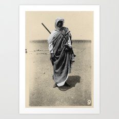 Service in Egypt Art Print