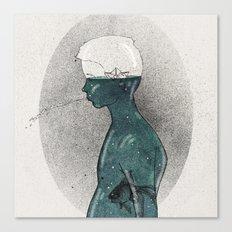 waterboy Canvas Print