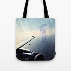 coming back - android case Tote Bag