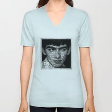 The Fab Four Songs - George Unisex V-Neck