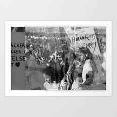 Humanity, Solidarity, Freedom Art Print