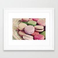 Sweet Macarons Framed Art Print