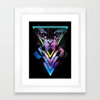 CODE X Framed Art Print
