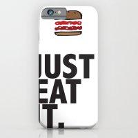 JUST EAT IT... BURGER iPhone 6 Slim Case