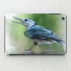 Summer Nuthatch iPad Case