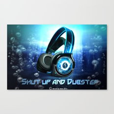 Dub your step Canvas Print