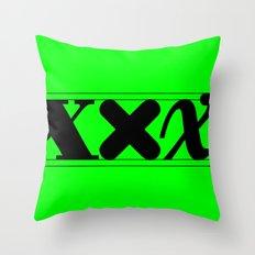 XXX-height. Throw Pillow