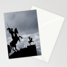 Warriors of time Stationery Cards