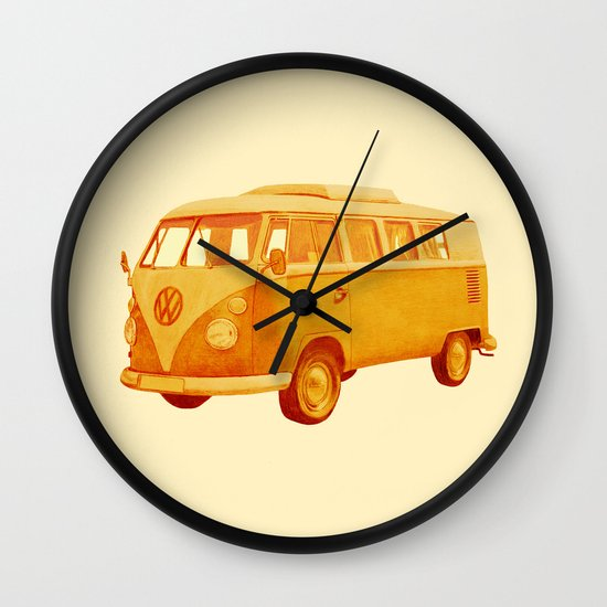 Summer Ride Wall Clock