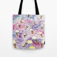Dandelion, where you want to go? Tote Bag