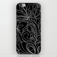 Nature black&white iPhone & iPod Skin