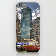 NYC Harbor, south seaport iPhone 6s Slim Case