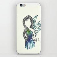Silvermist Zen Tangle iPhone & iPod Skin