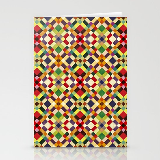 Pixel Stationery Card