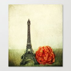 Textured Paris StillLife  Canvas Print